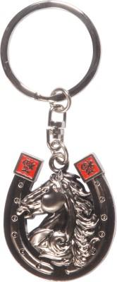 Zeroza Horse Head In A Horseshoe FY16 Key Chain