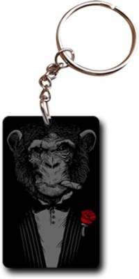 Shoppers Bucket Smart Monkey Business RW Key Chain