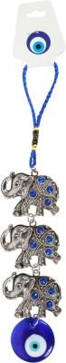 Brecken Paul Lucky Chinese 3 Elephants Key Chain