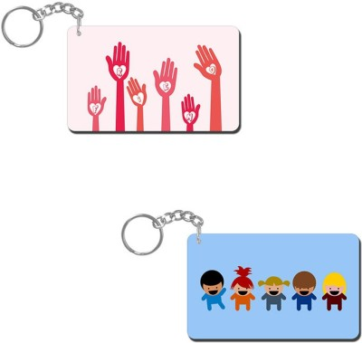 Lovely Collection We Are Friends Key Chain