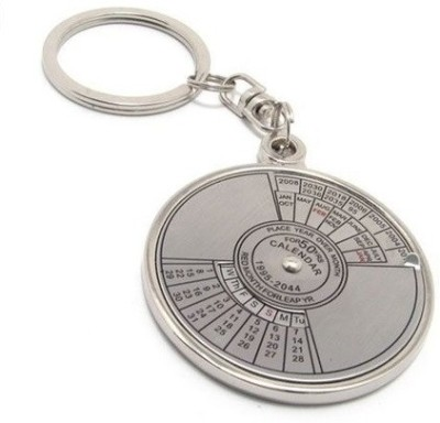 Onlinemart Compass Date Perpetual With Calendar Up-To 50 Years Key Chain