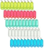 Mapple tag plastic pack of 50 keychain C...