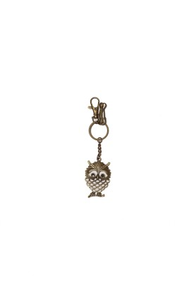 THINKSTERS Antique owl keychain Carabiner