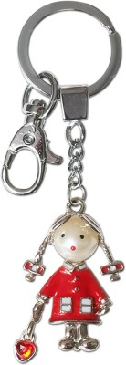 Super Drool Lil Red Doll Embellished Key Chain