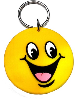 FCS Big Round Smile face Key Chain