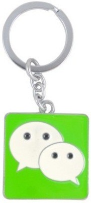 Ezone Wats App Metal Key Chain Key Chain(Silver) Carabiner(Silver)