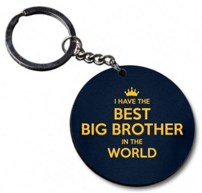 Shoppers Bucket Best Brother Key Chain