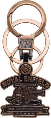 Zeroza Royal Enfield Made Like a Gun RE82 Key Chain