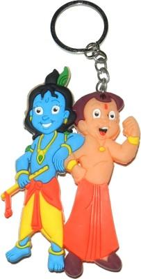 Techpro Doublesided Krishna & Chota Bheem Key Chain
