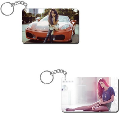 Lovely Collection Model Key Chain
