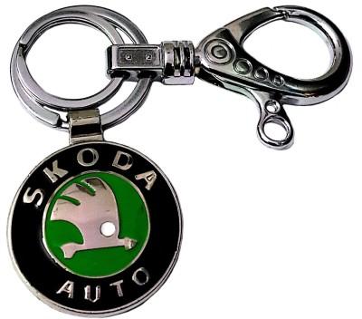 FCS Skoda Double Hook Locking Key Chain