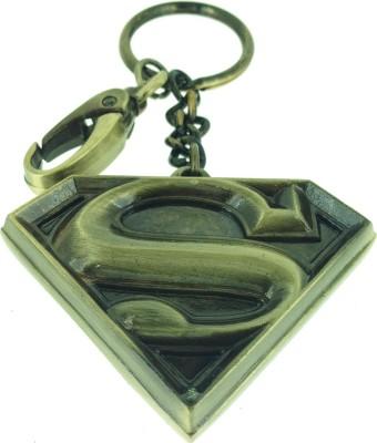 Warner Bros WB Superman Shield A B 474 Locking Key Chain