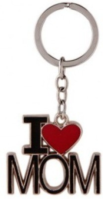 Chainz I Love Mom Metal Key Chain