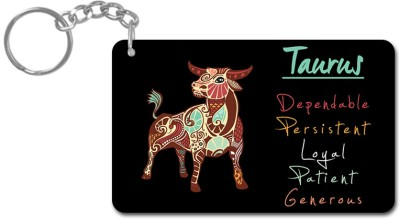 Lovely Collection Zodiac Sign Taurus Key Chain