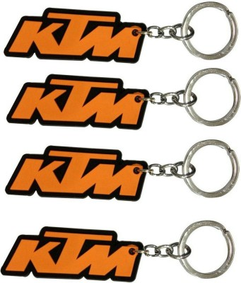 FCS Lucky Ktm Rubber Key Chain