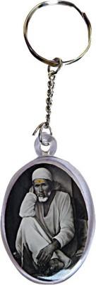 DCS Round Sai Baba Key Chain