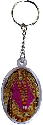 DCS Round Garland Sai Baba Key Chain