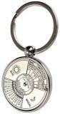 Ezone Full Metal 50 Year Compass Ring Ca...