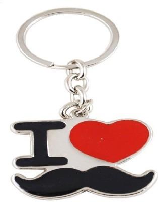 Forty Creek I Love Moustache Key Chain