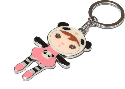 Thinksters Pink Doll Key Chain