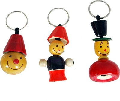 Mnc Key Chains Combo Of(Smili+Bell+New) Key Chain
