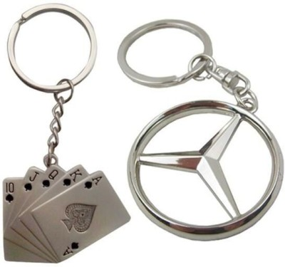 i-gadgets Playingcards Mercedes Key Chain