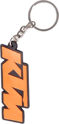 FCS KTM Bike Rubber Key Chain