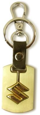 Indiashopers New High Alloy Suzuki Locking Key Chain