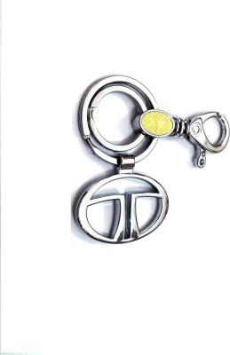 Ezone Imported Metal Tata Locking Key Chain