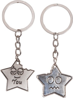 Oyedeal Kycn585 Star Couple Key Chain