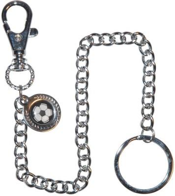 Confident Design Pattern Sling Locking Key Chain
