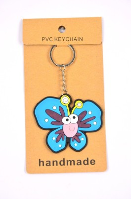 Shrisay Ventures Blue Butterfly Pack Of 2 Key Chain