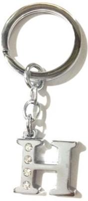 Rashi Traders Alphabet H Chrome Key Chain