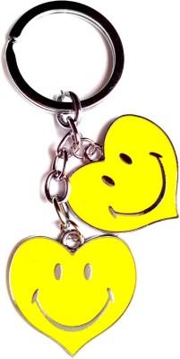 KeepSake Smiley Heart Key Chain