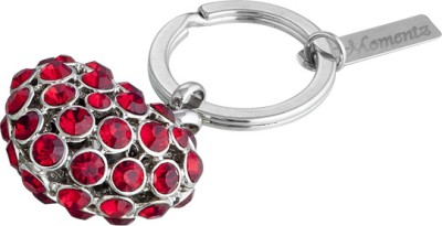 Momentz HeartRed Crystals Key Chain