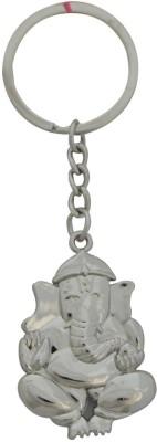 Aaradhi Divya Mantra Siddhivinayak Ganesha Metallic Locking Key Chain