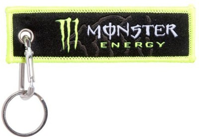 Confident MANSTER ENERGY For Race cloth Locking Key Chain