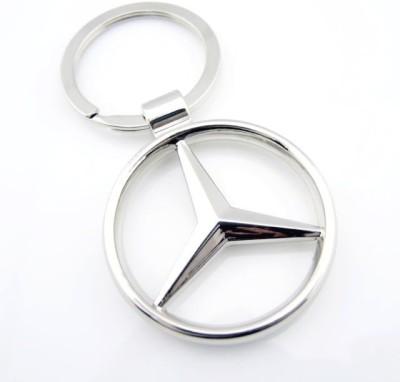 Indiashopers Mercedes Metallic Key Chain
