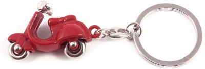 VeeVi Red Moving Scooty Key Chain