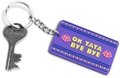 Happily Unmarried Ok Tata Bye Locking Key Chain