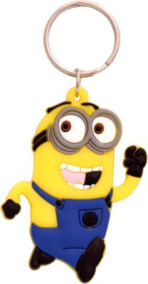 Spotdeal SDL507 Despicable me jerry Rubber Key Chain Carabiner
