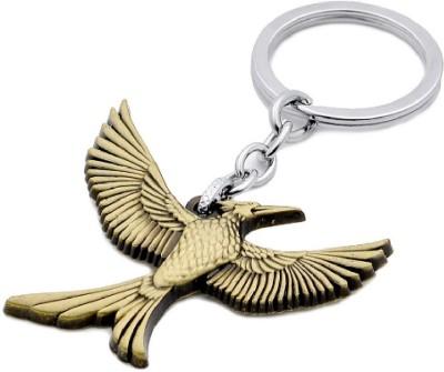 SURAJ ENTERPRISES Hunger Games Catching Fire Logo Mockingjay metal Key Chain