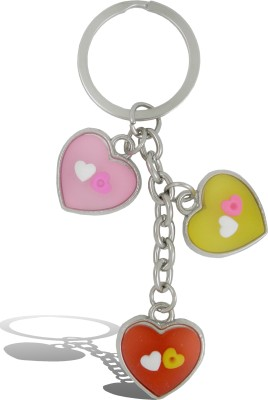 Get Fatang 3 in 1 Heart Valentine Key Chain