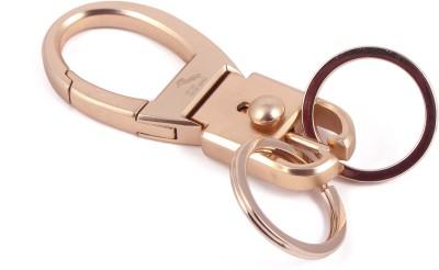 VeeVi Gold Proud Horse Split Ring Locking Key Chain