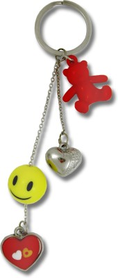 Get Fatang Love Charms with Smiley Ball Valentine Key Chain