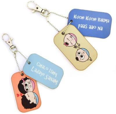 Little India COMB454 Locking Key Chain