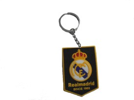 NCC NCC658 REAl Madrid Rubber keychain Carabiner(Multicolor)
