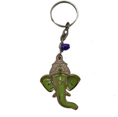 Aaradhi Divya Mantra Ganesha Head Locking Key Chain