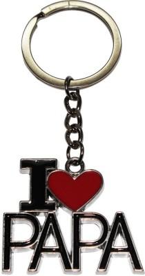 Bainsons I-Love-Papa-Metal Key Chain