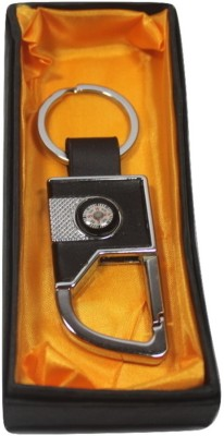 SILTASON SHAKTI AUTOMOBILES LOGO Locking Key Chain